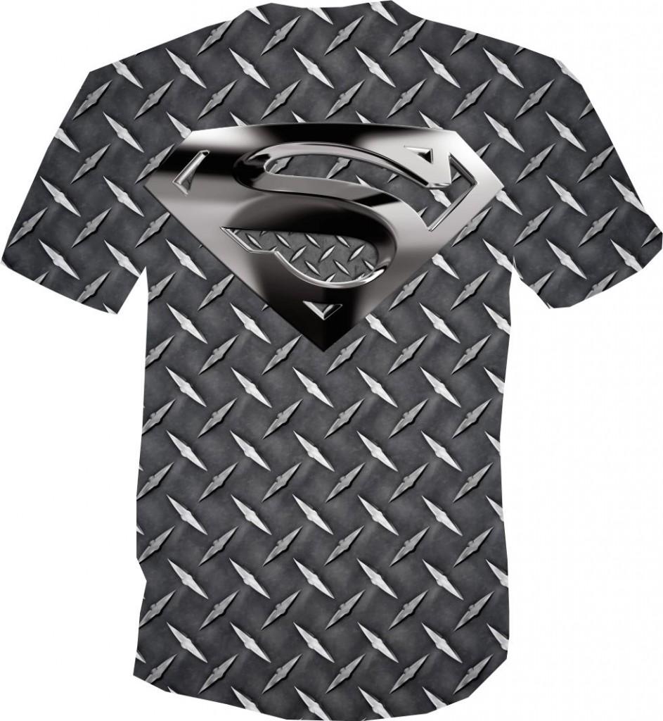футболка 3D супермен