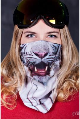 маска белый тигр